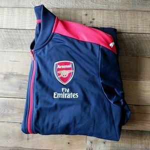 Arsenal FC zip up jacket